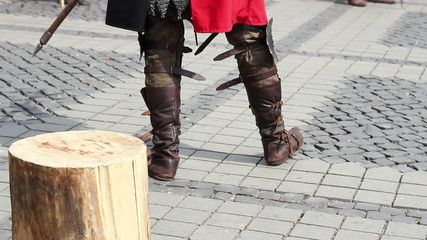 Medieval Knight Boots