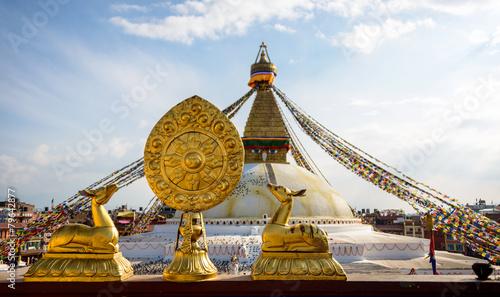 Keuken foto achterwand Nepal Boudhanath stupa in Kathmandu