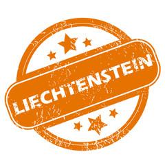 Liechtenstein grunge icon