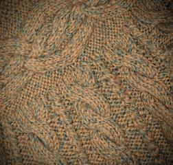 beautiful piece of knitting