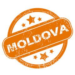 Moldova grunge icon