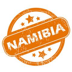 Namibia grunge icon