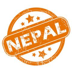 Nepal grunge icon