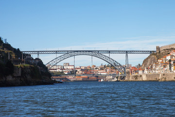 Dom Luís I bridge, Porto, Portugal.