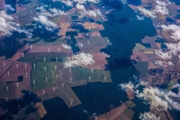 Windpark für Energiewende aus der Luft