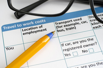 Travel to work costs