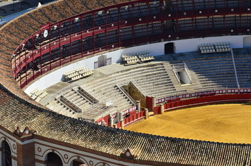 arena in Malaga,Spain