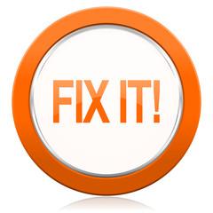 fix it orange icon