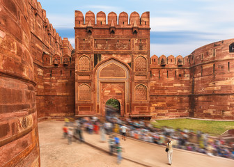 Agra Red fort, Jaipur, India