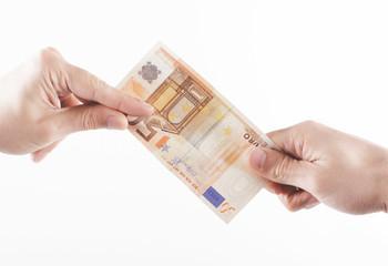 Mani con soldi