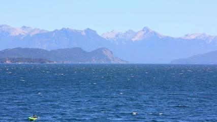 Nahuel Huapi lake in the morning - Bariloche