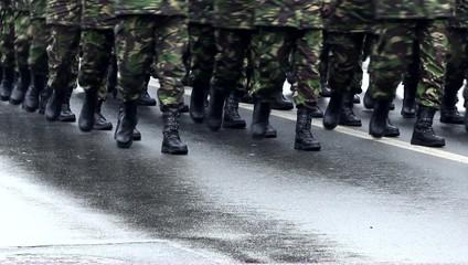 Platoon Marching