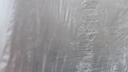Plastic Wrap Waving