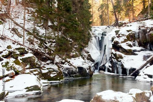 waterfall Szklarka
