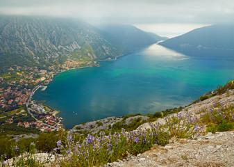 The Kotor bay, Montenegro