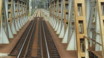 Railroad over Iron Bridge
