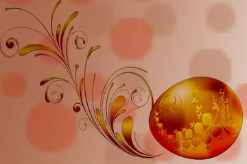 Иллюстрация Пасхальное яйцо