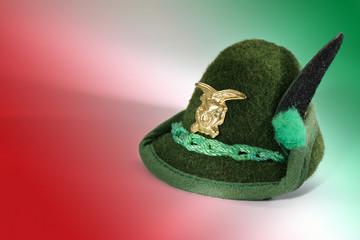 cappellino alpini italiani miniatura