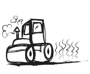 doodle steamroller