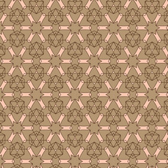 Abstract background composed  brown and shades of beige