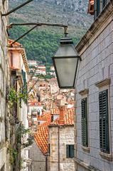 Alley in Dubrovnik Croatia
