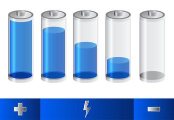 blue battery status