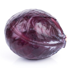 Red Cabbage Isolated