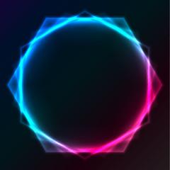 Abstract plasma lighting background