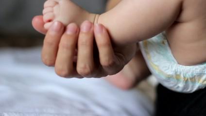 Tiny Baby Foot