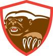 Honey Badger Claws Side Shield Retro
