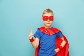 little power super hero child