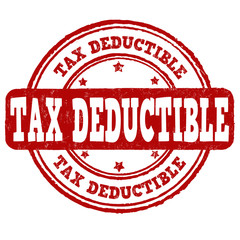 Tax deductible stamp
