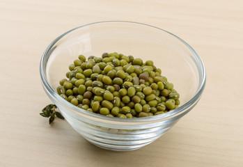 Dry green beans