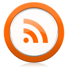 rss orange icon