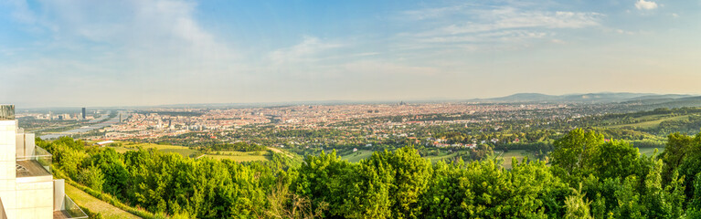 Blick über Wien vom Kahlenberg
