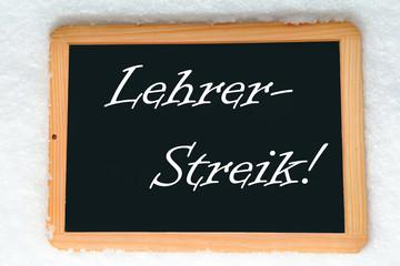 Lehrer-Streik!