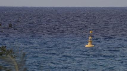Ocean Buoy Solar Powered