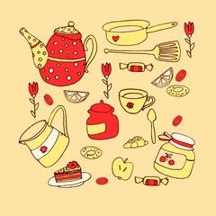 tea service,