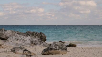 Tulum Caribbean Ocean Mexico