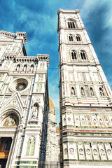 The Tower of the Cathedral of Florence
