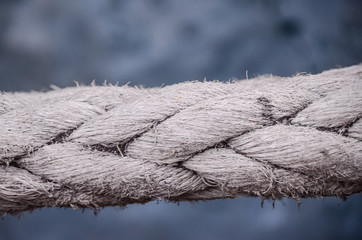 Old Vintage Naval Rope