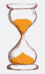 Time design, vector illustration.