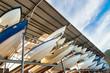 Power boats sheltered parking facility marina in Trinidad - 79667408