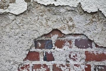 Marodes Mauerwerk / wall damage