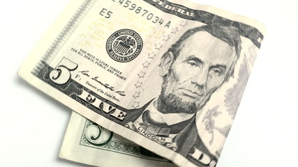 Five US dollar