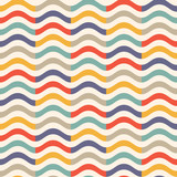 Fototapety vintage colorful wave pattern