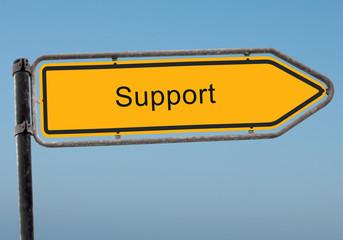 Strassenschild 38 - Support