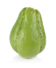 Thai bitter melon on white background