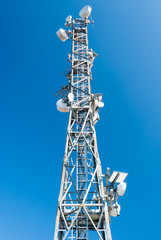 Tower for telecommunications