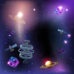 Space Dark Background